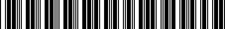 Barcode for 000051419B