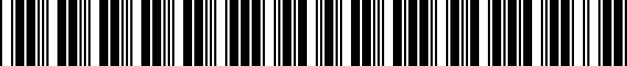 Barcode for 000071204ADSP