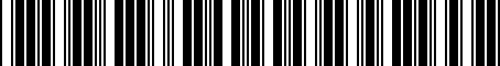 Barcode for 1KM065110A