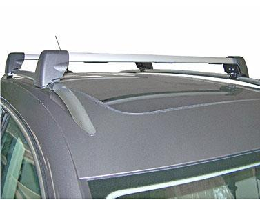 Diagram Base Carrier Bars - For vehicles with factory rails - Silver (5N0071151) for your 2011 Volkswagen Tiguan